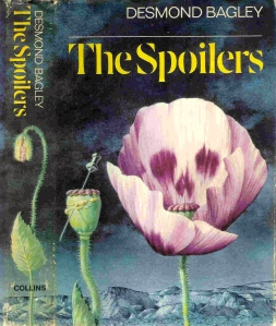 Desmond Bagley - The Spoilers 1969 - Cover artist: Norman Weaver © HarperCollins Publishers.