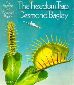 Desmond Bagley - The Freedom Trap 1971 - Cover artist: Norman Weaver © HarperCollins Publishers.