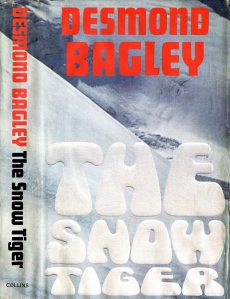 Desmond Bagley - The Snow Tiger 1975 - Cover artist: Ronald Clark © HarperCollins Publishers.