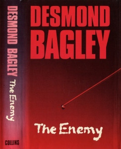 Desmond Bagley - The Enemy 1977 - Cover artist: Mark Lawrence © HarperCollins Publishers.