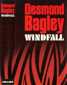 Desmond Bagley - Windfall 1982 - Cover artist: Donald MacPherson © HarperCollins Publishers.