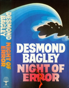Desmond Bagley - Night of Error 1984 - Cover artist: Donald MacPherson © HarperCollins Publishers.