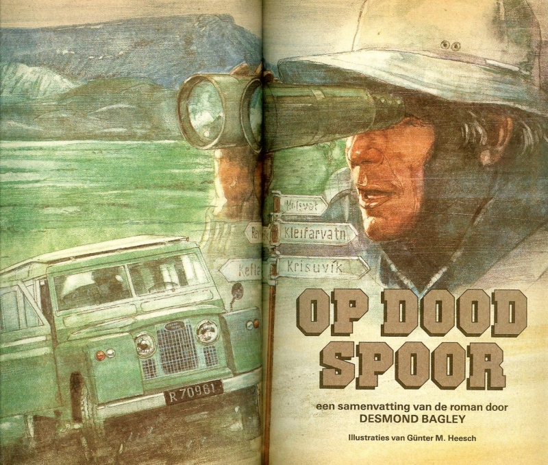 Desmond Bagley Op Dood Spor (Running Blind) - The Netherlands Reader's Digest No. 137, 1989.