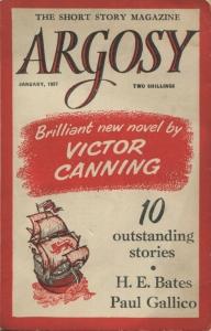 Desmond Bagley 'My Old Man's Trumpet' Argosy Magazine January 1957. Image © Amalgamated Press.