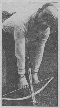 Desmond Bagley at Hay Hill Totnes 28th June 1973 © Radio Times.