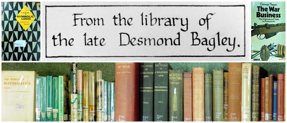 From the library of the late Desmond Bagley at the Guille-Alles Library © The Bagley Brief.