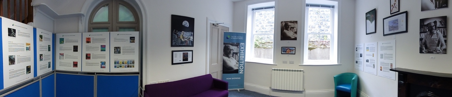 The Life and Work of Desmond Bagley Exhibition at the Guille-Alles Library, St Peter Port, Guernsey © The Bagley Brief.
