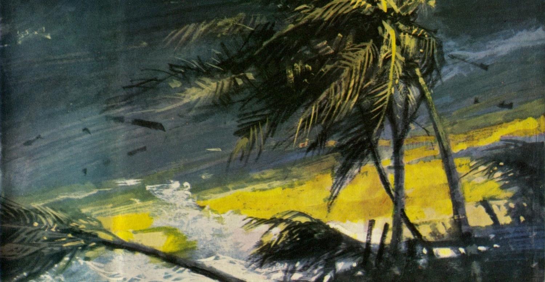 Desmond Bagley - Wyatt's Hurricane - 1966 - Cover artist: Pino Dell'Orco © HarperCollins Publishers.