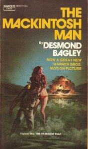 The Mackintosh Man by Desmond Bagley - © Fawcett Crest 1973.