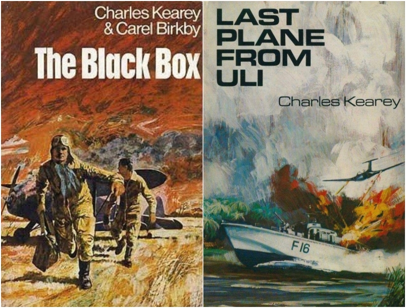 The Black Box by Charles Kearey and Carel Birkby and Last Plane From Uli by Charles Kearey - © HarperCollins Publishers 1970/71.