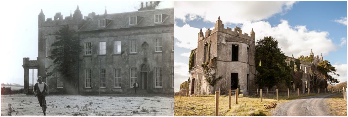 The Mackintosh Man - Ardfry House, Oranmore, Ireland © Warner Bros 1973 & Connacht Tribune.