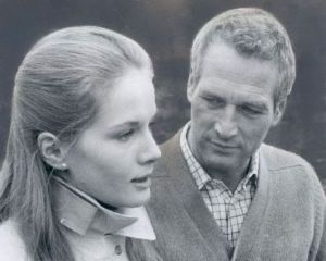 The Mackintosh Man - Paul Newman and Dominique Sanda © Warner Bros 1973.