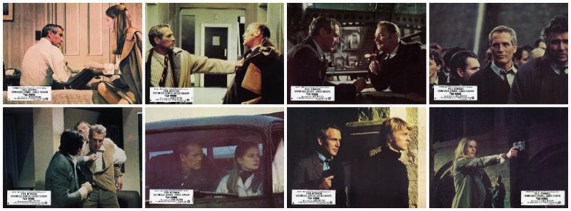 The Mackintosh Man - Lobby cards - An adaptation of Desmond Bagley's The Freedom Trap © Warner Bros 1973.