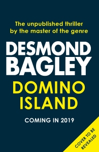 Desmond Bagley - Domino Island (Holding Cover) © HarperCollins Publishers.