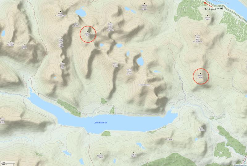 sgurr-mor-loch-fannich-copyright-open-street-map