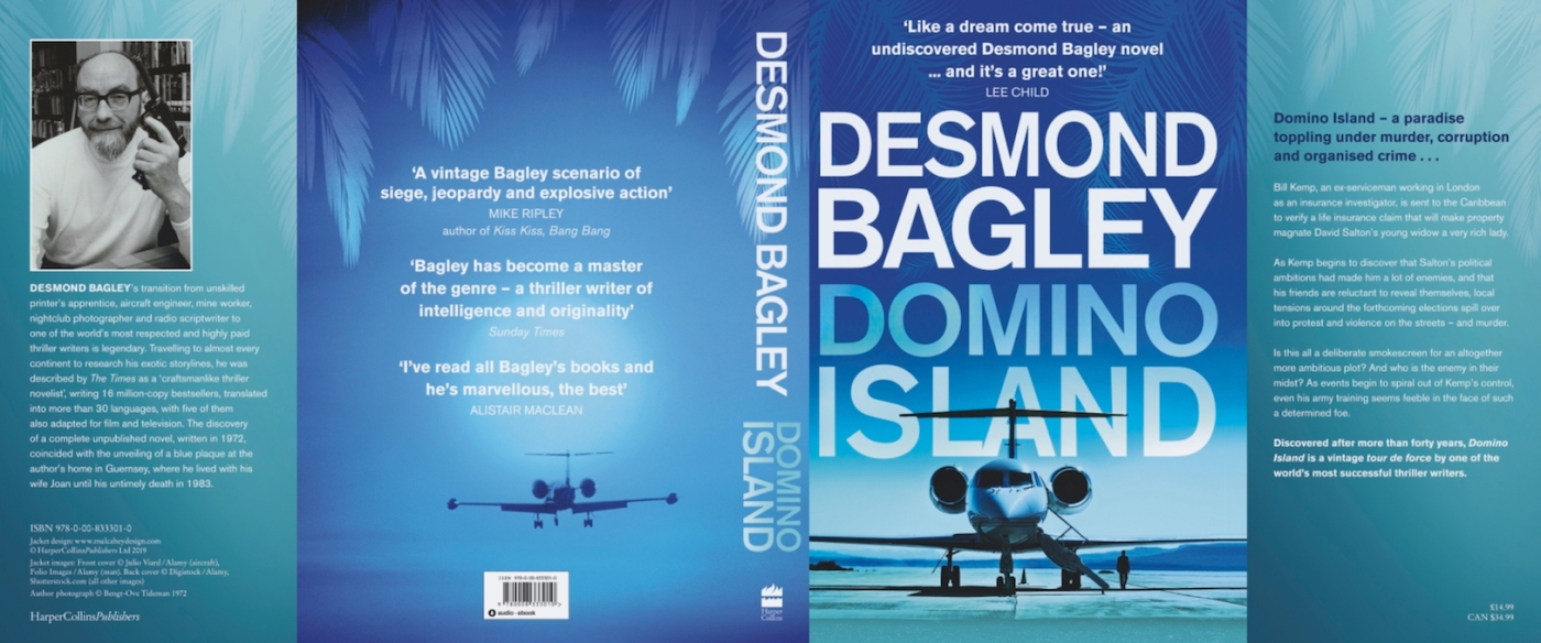 Domino Island by Desmond Bagley © HarperCollins Publishers.