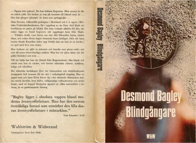 Desmond Bagley Running Blind Swedish edition