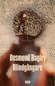 Desmond Bagley Running Blind Swedish edition © Wahlström & Widstrand.