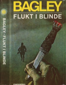 Desmond Bagley Running Blind Norwegian edition © J.W. Cappelens Forlag a.s.