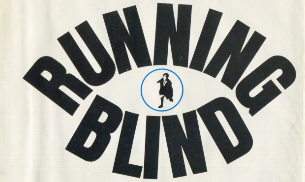 Desmond Bagley Running Blind - Desmond Bagley Running Blind - First American Edition - Cover design by Lawrence Ratzkin © Doubleday 1971