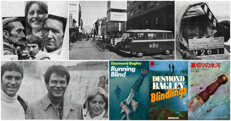 Desmond Bagley's Running Blind - Visit the archive on The Bagley Brief.