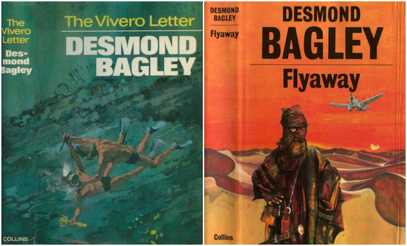 Desmond Bagley - The Vivero Letter & Flyaway © HarperCollins Publishes Ltd.