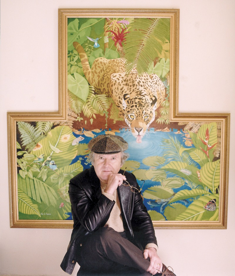 Peter Le Vasseur with Jewel of the Forest © Emma Hodge.