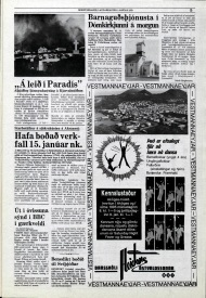 Desmond Bagley Running Blind Icelandic media article from Morgunbladid 6th Janaury 1979.