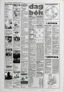 Desmond Bagley Running Blind Icelandic media article from Thjodviljinn 2nd February 1980.