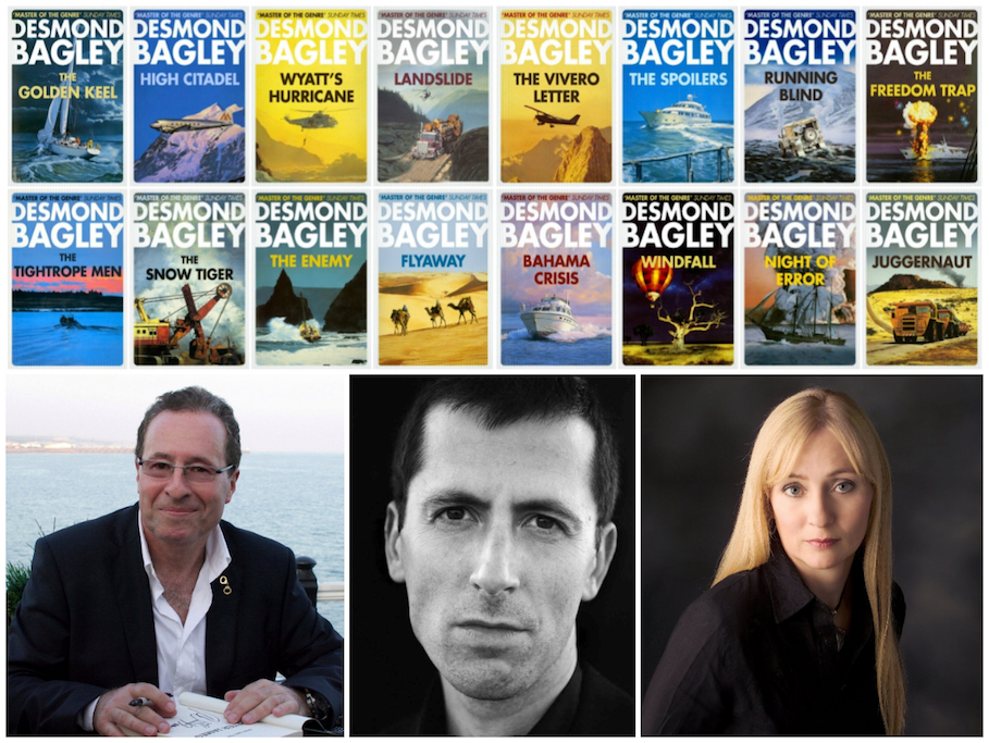 The Bagley Brief interviews authors Peter James, Jeremy Duns and Caro Ramsay, all admirers of Desmond Bagley's novels.